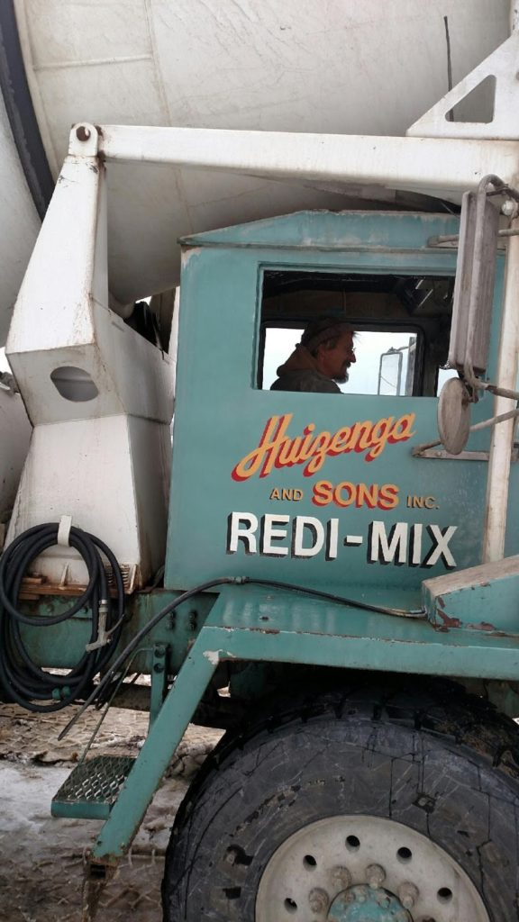 Huizenga and Sons Redi-Mix delivers concrete as fast as possible to the job site to allow it to properly set.