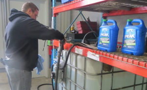 At Alt Oil Company, we can provide you with packaged premium PEAK Blue Diesel Exhaust Fluid or convenient bulk delivery options for larger fleets!