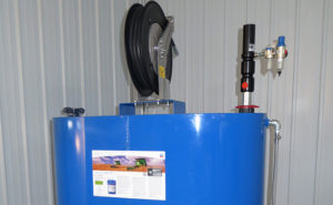 Alt Oil Company supplies a wide range of storage and delivery solutions, including convenient hose reels!