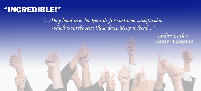 We're a customer favorite...